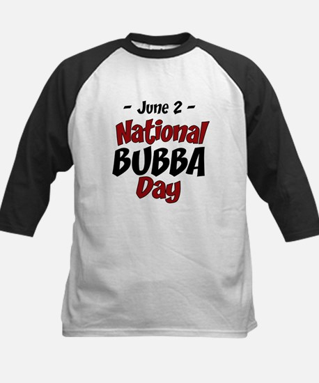 National Bubba Day Kids Baseball Jersey