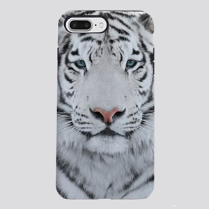 White Tiger Head iPhone 7 Plus Tough Case