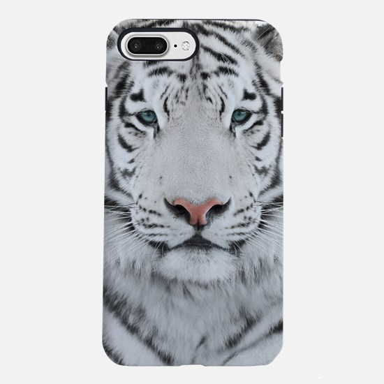 White Tiger Head iPhone 7 Plus Tough Case