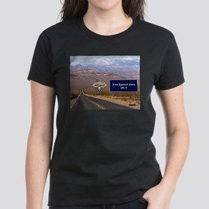 Death Valley Free Speech Women's Dark T-Shirt