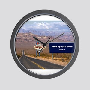 Death Valley Free Speech Wall Clock