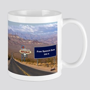 Death Valley Free Speech Mug