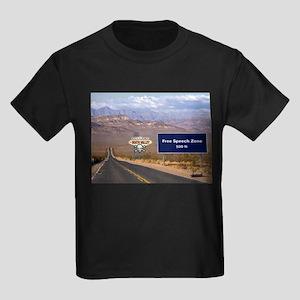 Death Valley Free Speech Kids Dark T-Shirt