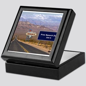 Death Valley Free Speech Keepsake Box