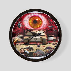 Israel Eye Wall Clock