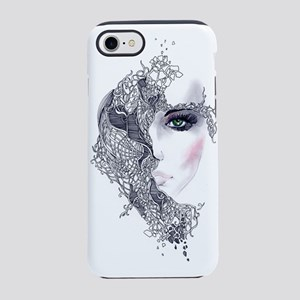 Artistic Female Head iPhone 7 Tough Case