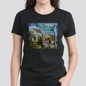 Foreclosure Street Women's Dark T-Shirt