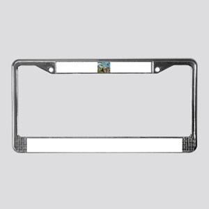 Foreclosure Street License Plate Frame