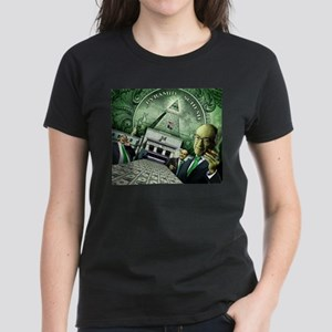 Pyramid Scheme Women's Dark T-Shirt