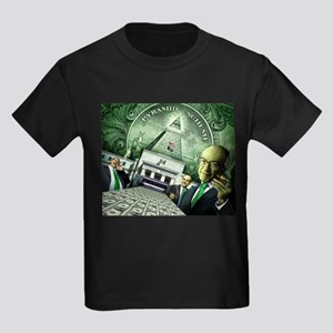 Pyramid Scheme Kids Dark T-Shirt