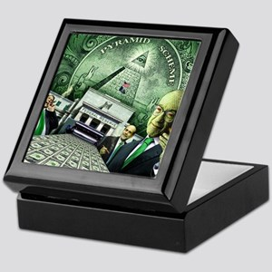 Pyramid Scheme Keepsake Box