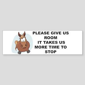 Pugpockets.com- Horse Sticker (Bumper)