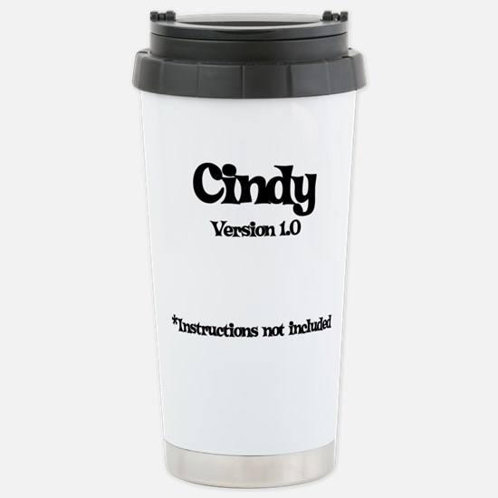 Cindy - Version 1.0 Stainless Steel Travel Mug