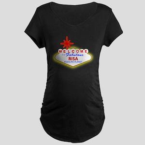 Visit RISA Maternity Dark T-Shirt