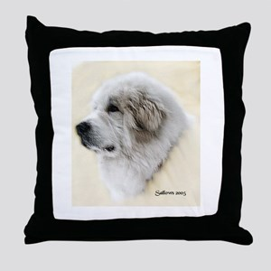 pyrenees  Throw Pillow
