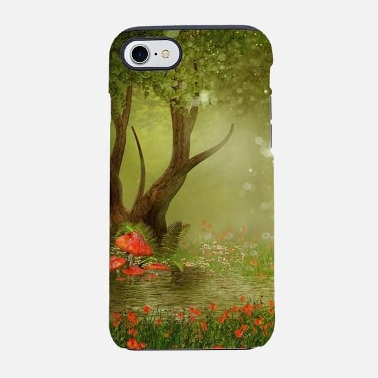 Enchanted Summer Pond iPhone 7 Tough Case
