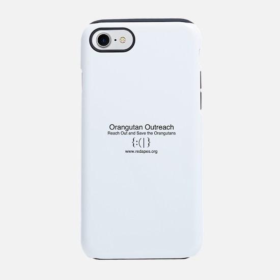 Orangutan Outreach Brand iPhone 7 Tough Case