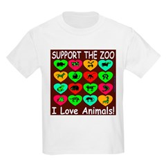 Support The Zoo Kids T-Shirt