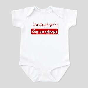 Jacquelyns Grandma Infant Bodysuit