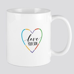 RF Love your skin Mugs