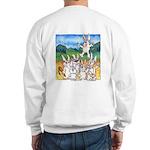 Bunny Rabbits Jump Sweatshirt