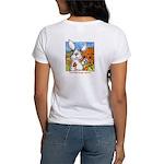 Bunny Rabbits Jump Women's T-Shirt
