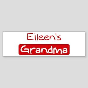 Eileens Grandma Bumper Sticker