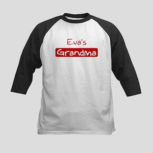 Evas Grandma Kids Baseball Jersey