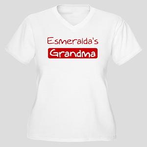 Esmeraldas Grandma Women's Plus Size V-Neck T-Shir