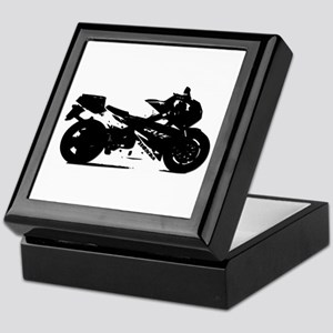 Motorcycle Keepsake Box