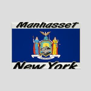 Manhasset New York Rectangle Magnet