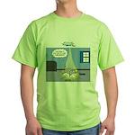 Fat Cat Green T-Shirt