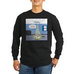 Fat Cat Long Sleeve Dark T-Shirt