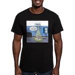 Fat Cat Men's Fitted T-Shirt (dark)