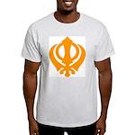 Just Khanda Ash Grey T-Shirt