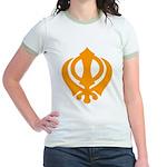Just Khanda Jr. Ringer T-Shirt