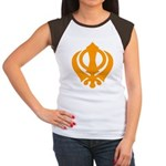 Just Khanda Women's Cap Sleeve T-Shirt