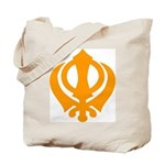 Just Khanda Tote Bag