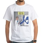 T-Rex Prosthetic Arm White T-Shirt