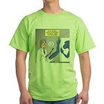 T-Rex Prosthetic Arm Green T-Shirt