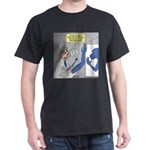 T-Rex Prosthetic Arm Dark T-Shirt