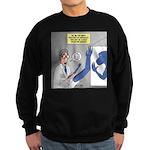 T-Rex Prosthetic Arm Sweatshirt (dark)