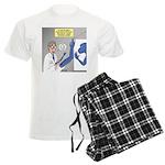 T-Rex Prosthetic Arm Men's Light Pajamas