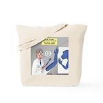 T-Rex Prosthetic Arm Tote Bag