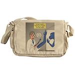T-Rex Prosthetic Arm Messenger Bag
