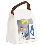 T-Rex Prosthetic Arm Canvas Lunch Bag
