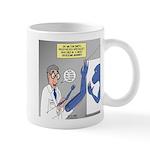 T-Rex Prosthetic Arm Mug
