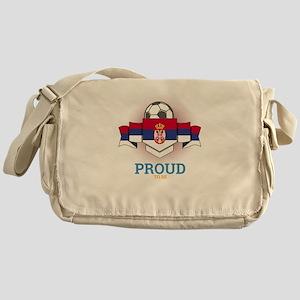 Football Serbs Serbia Soccer Team Sp Messenger Bag
