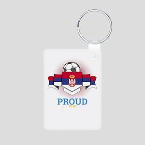 Football Serbs Serbia Soccer Team Sports Keychains
