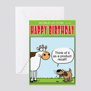 Product Recall Greeting Card